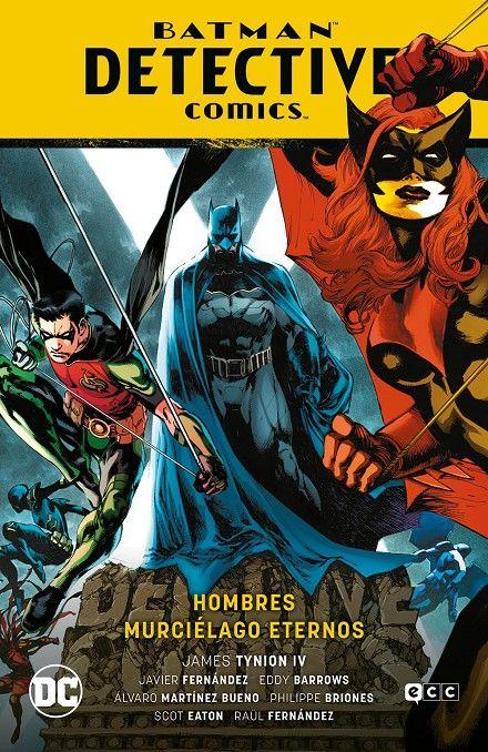 Batman: Detective Comics vol. 07. Hombres murciélago eternos.