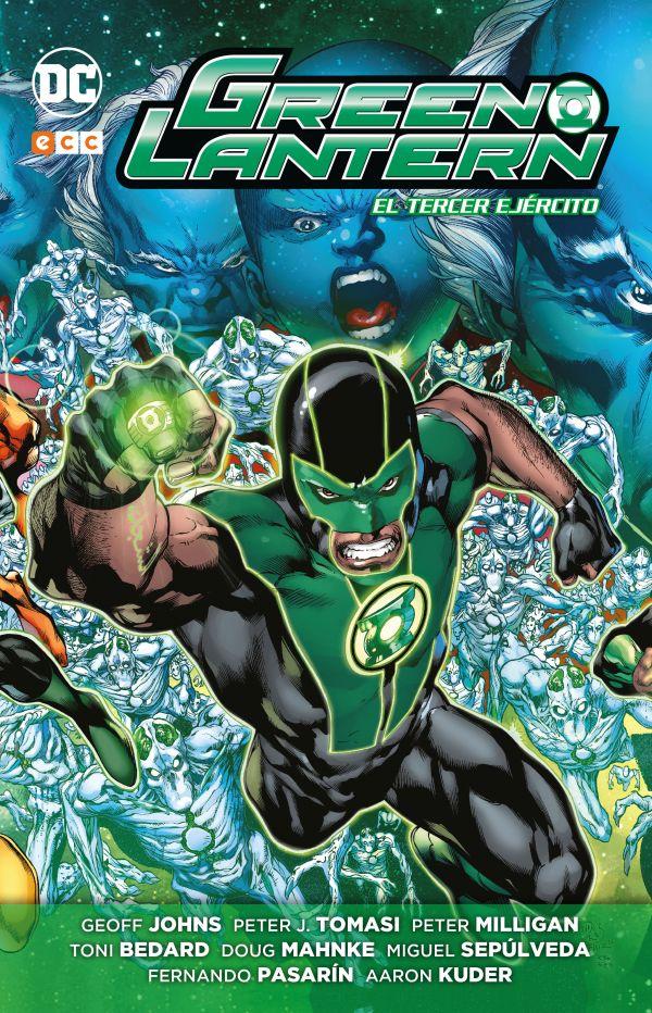 Green Lantern de Geoff Johns núm. 08: El tercer ejército