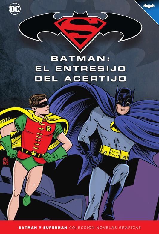 Novelas Gráficas Batman y Superman 76. Batman '66: El entresijo del acertijo