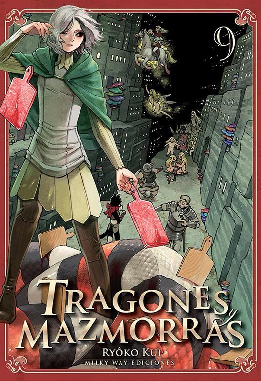 TRAGONES Y MAZMORRAS 09