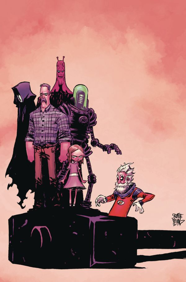 BLACK HAMMER AGE OF DOOM #1 VAR YOUNG
