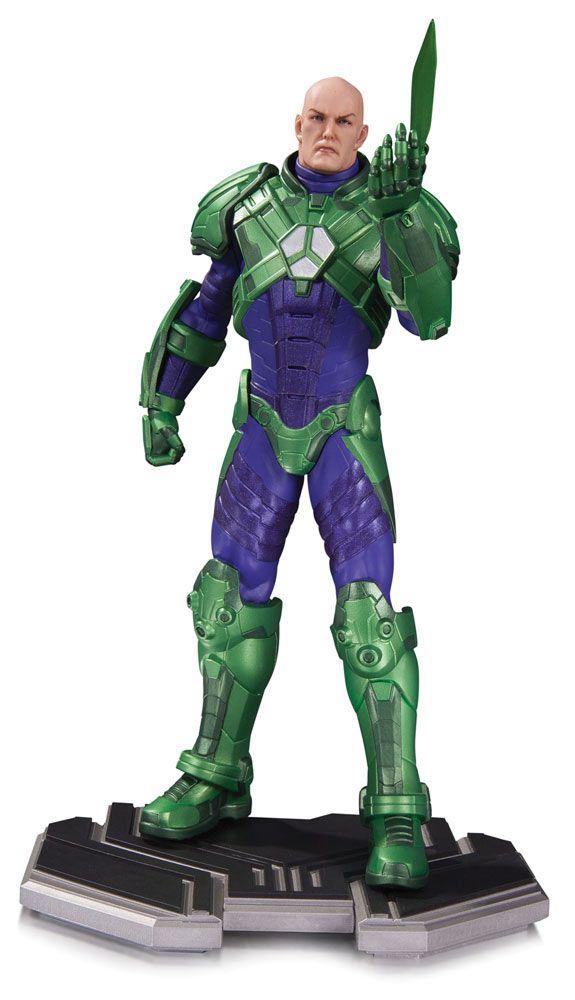 Estatua Lex Luthor 26 cm. Línea DC Comics Icons. DC Collectibles.