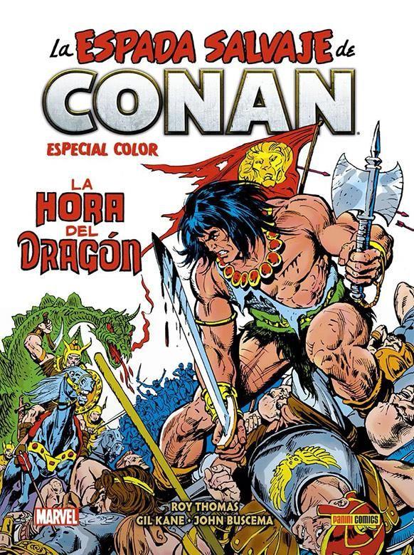 Biblioteca Conan. La Espada Salvaje de Conan- Especial Color: La Hora del Dragón