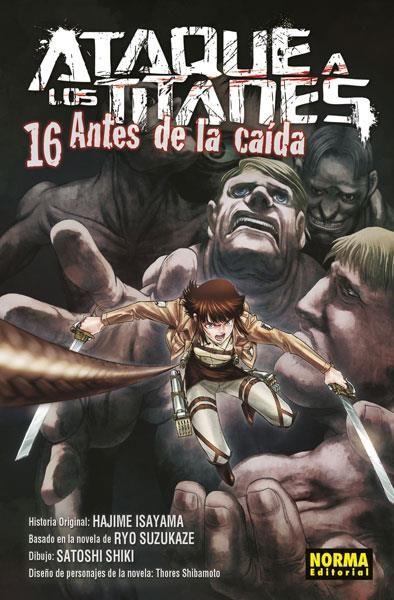 ATAQUE A LOS TITANES. ANTES DE LA CAÍDA 16