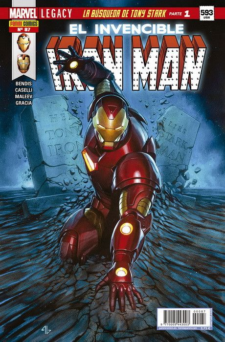 INVENCIBLE IRON MAN 87