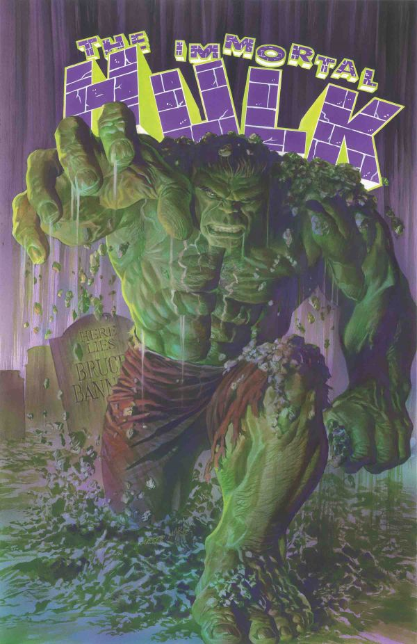 THE IMMORTAL HULK POR ALEX ROSS