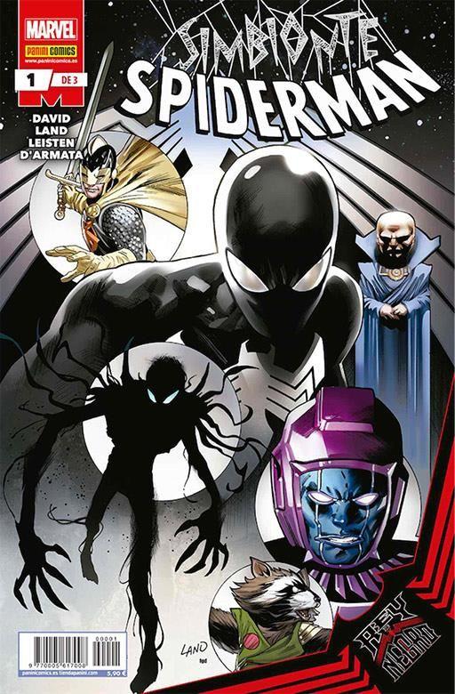 Rey de Negro: Simbionte Spiderman 01