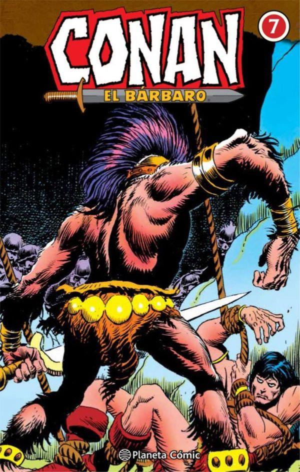 CONAN EL BÁRBARO INTEGRAL 07 DE 10