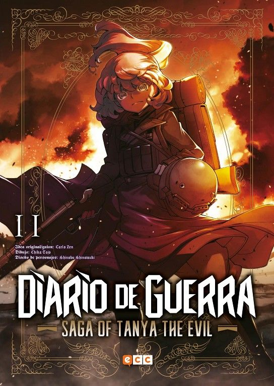 Diario de guerra - Saga of Tanya the evil 11