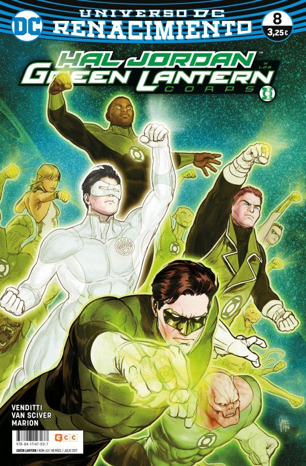 Green Lantern núm. 08 (Renacimiento)