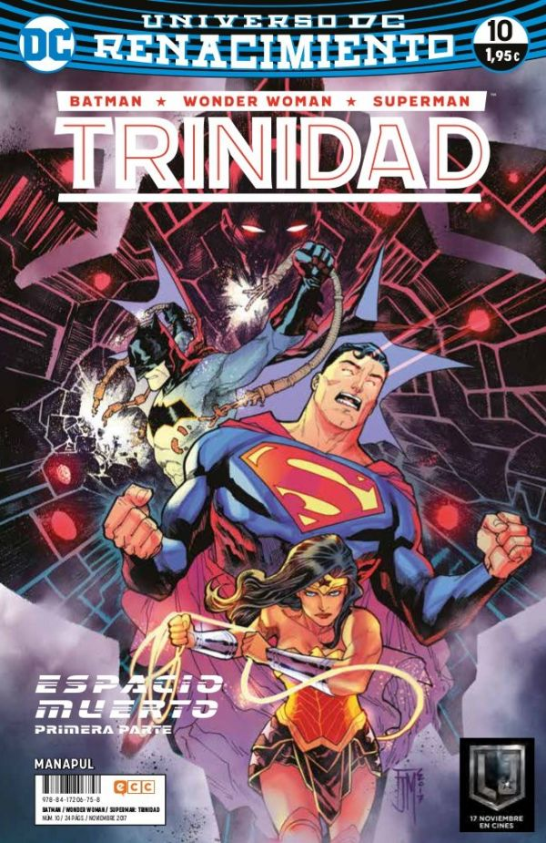 Batman/Wonder Woman/Superman: Trinidad núm. 10 (Renacimiento)