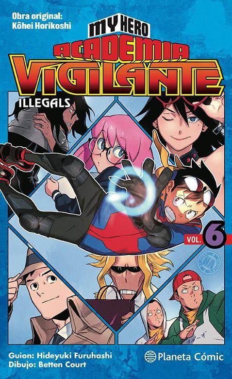 My Hero Academia Vigilante Illegals 06