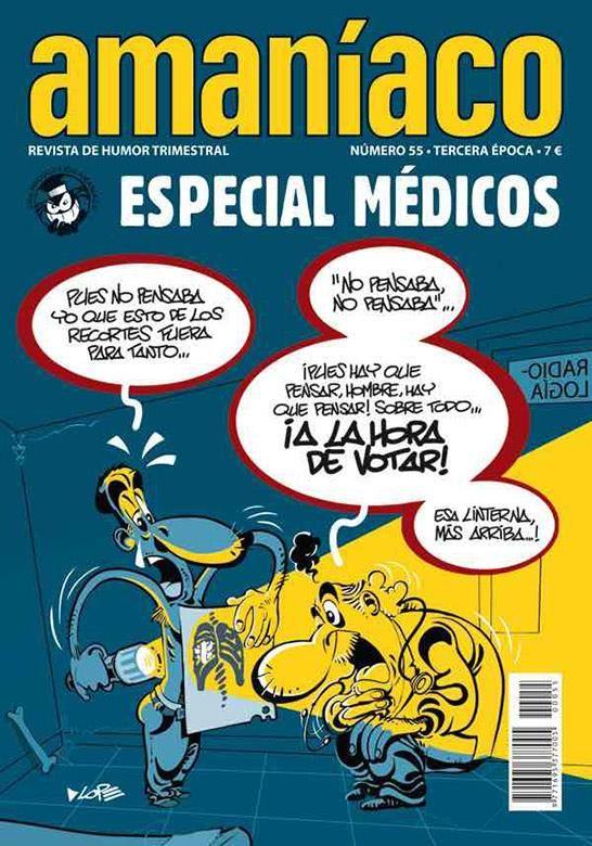 Amaníaco 55. Especial Médicos