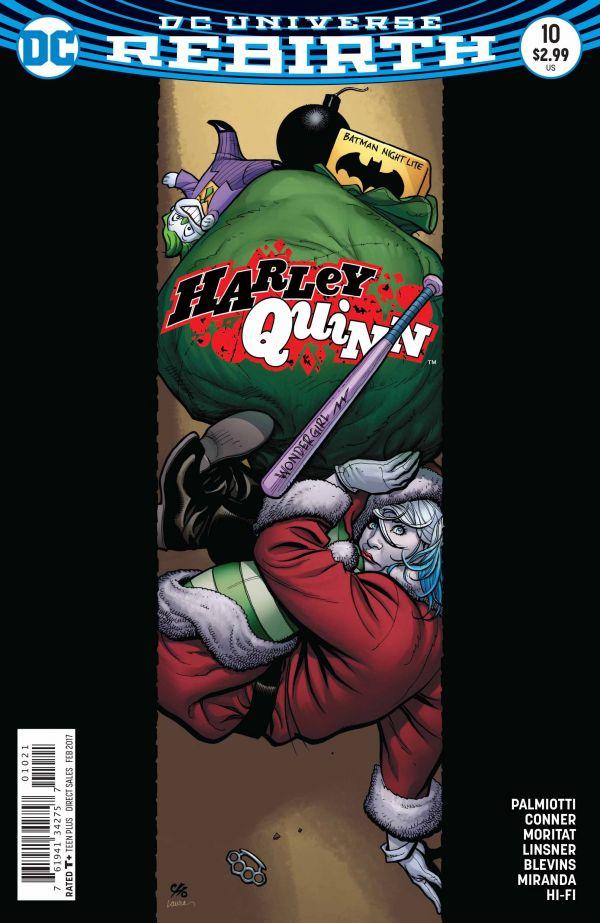 HARLEY QUINN #10 VAR ED (FRANK CHO)