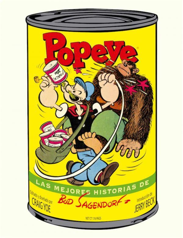 Popeye. Las mejores historias de Bud Sagendorf