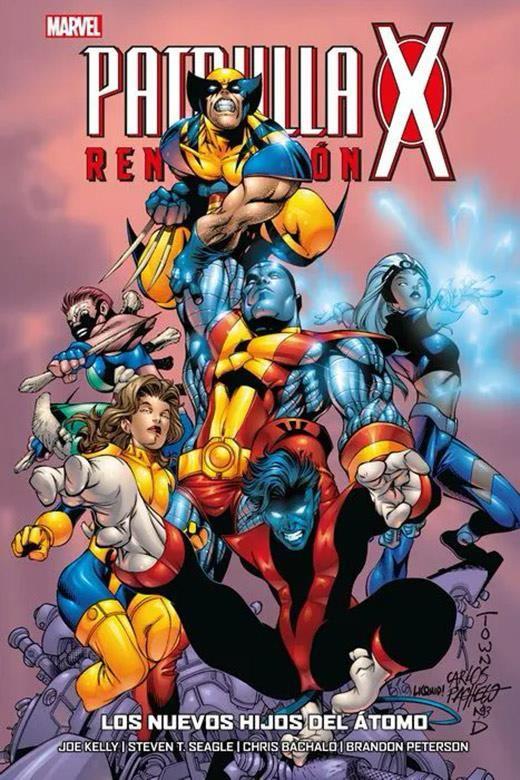Patrulla-X: Renovación 04. Los nuevos hijos del átomo