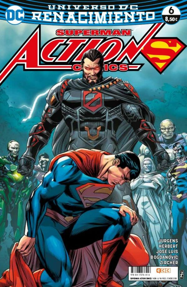 Superman: Action Comics núm. 06 (Renacimiento)