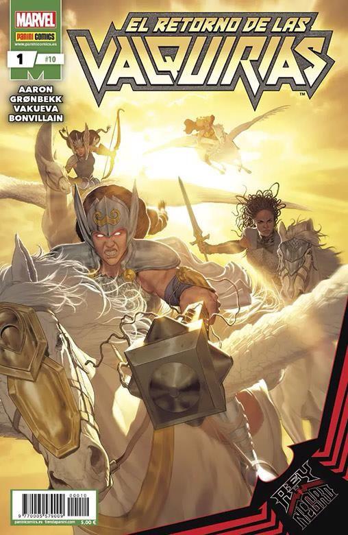 Rey de Negro: El Retorno de las Valquirias 01
