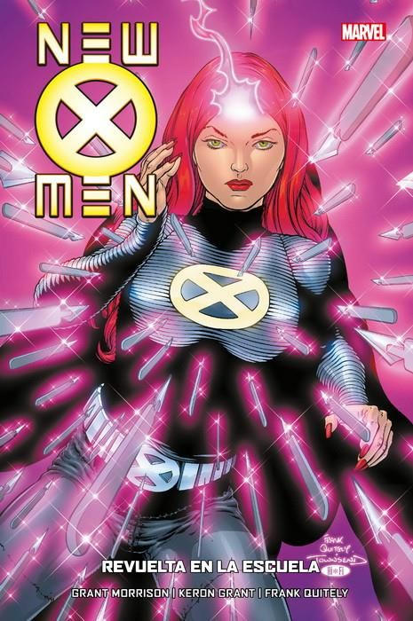 New X-Men 04 de 7. Revuelta en la escuela