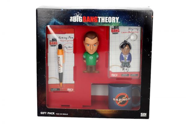 SET REGALO THE BIG BANG THEORY (ANTIESTRÉS-BOLI-TAZA-LLAVERO)
