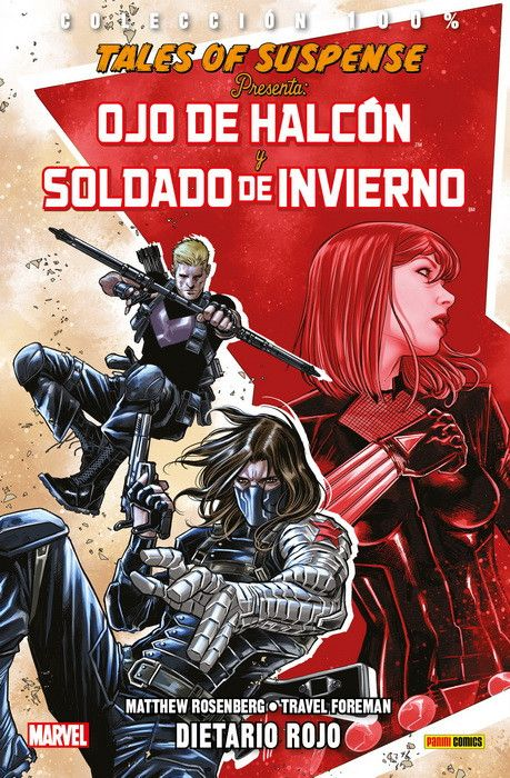 100% Marvel. Tales of Suspense Presenta Ojo de Halcón y Soldado de Invierno