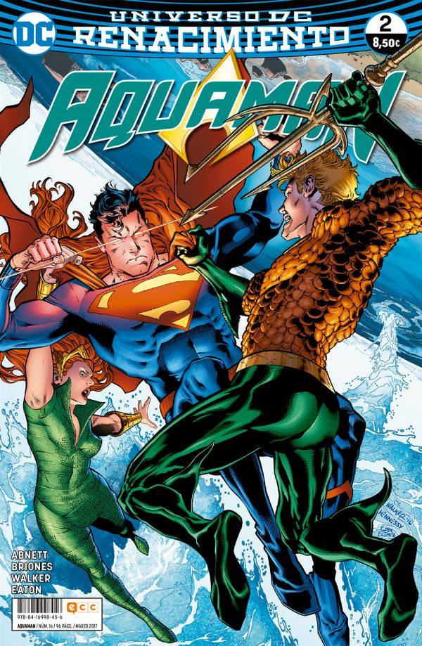 Aquaman núm. 02 (Renacimiento)