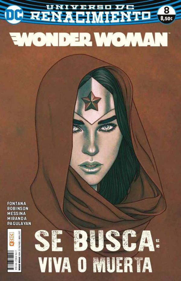 Wonder Woman núm. 08 (Renacimiento)