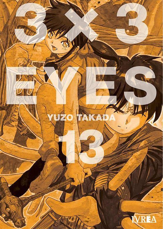 3X3 EYES 13