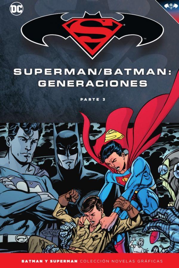 Batman y Superman - Colección Novelas Gráficas núm. 58 Generaciones (Parte 3)