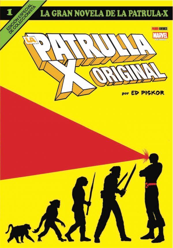 LA GRAN NOVELA DE LA PATRULLA-X 01