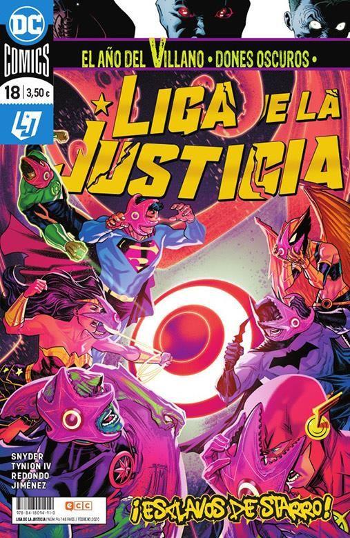 LIGA DE LA JUSTICIA 18