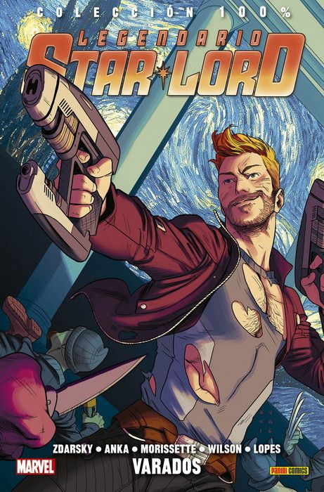 100% Marvel. Legendario Starlord 03