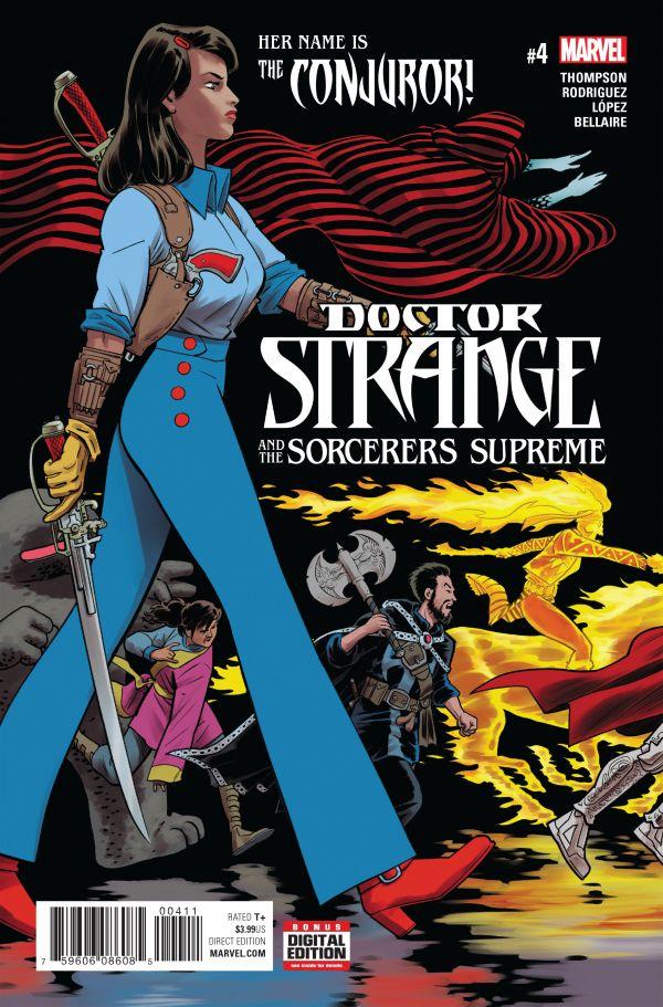 DOCTOR STRANGE SORCERERS SUPREME #4