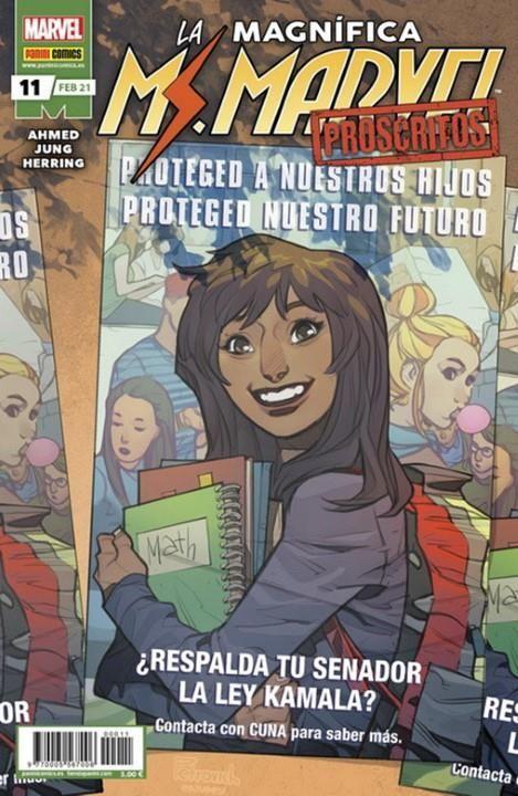 LA MAGNÍFICA MS. MARVEL 11