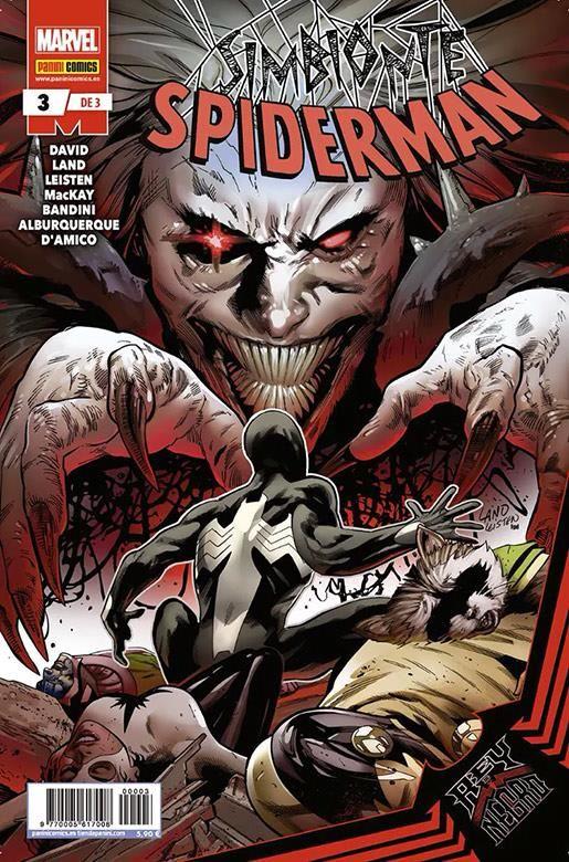 Rey de Negro: Simbionte Spiderman 03 (de 3)