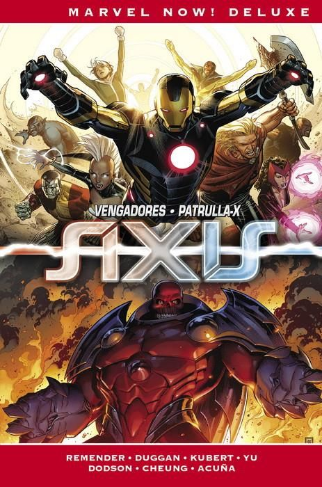 IMPOSIBLES VENGADORES. MARVEL NOW! DELUXE 03