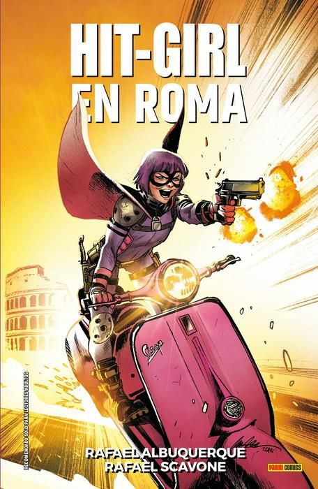 HIT-GIRL 03. EN ROMA