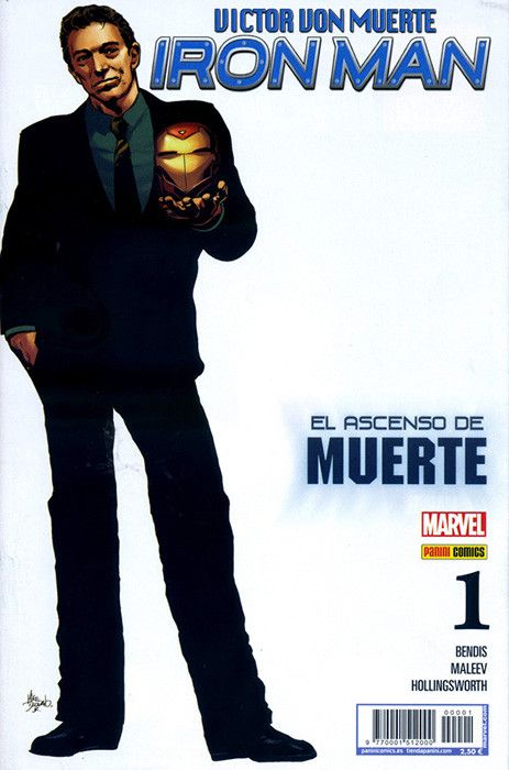 VICTOR VON MUERTE: IRON MAN (PORT.ALTERNATIVA) 01