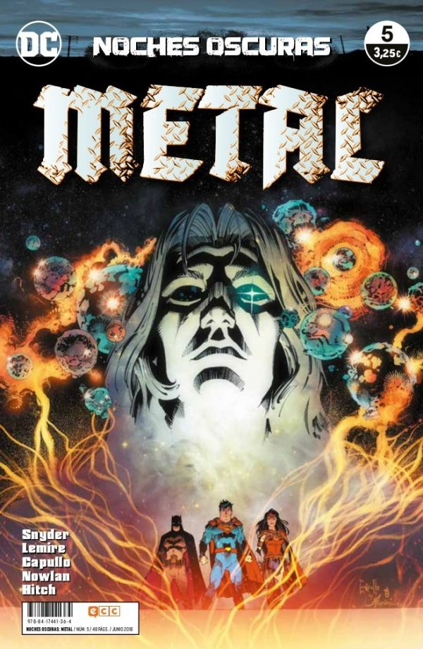 Noches oscuras: Metal núm. 05