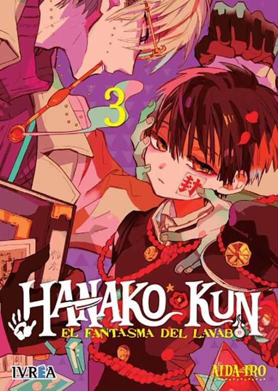 Hanako-Kun. El fantasma del lavabo 03