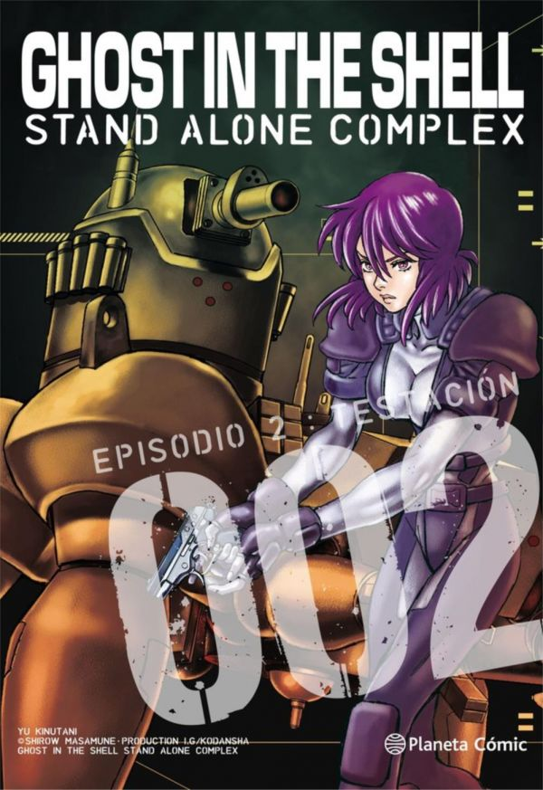 Ghost in the Shell Stand Alone Complex 02 (de 5)