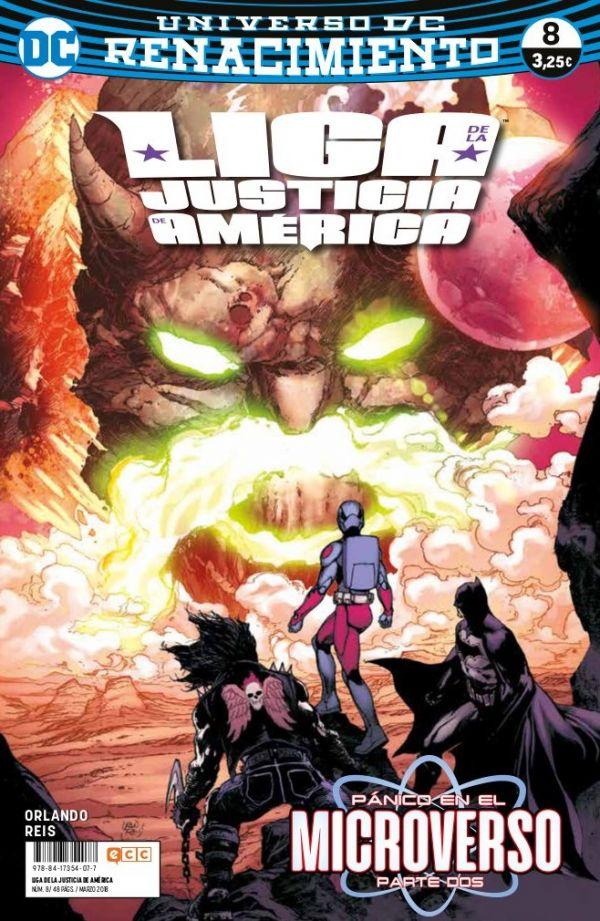 Liga de la Justicia de América núm. 08  (Renacimiento)