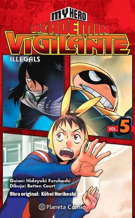 My Hero Academia Vigilante Illegals 05