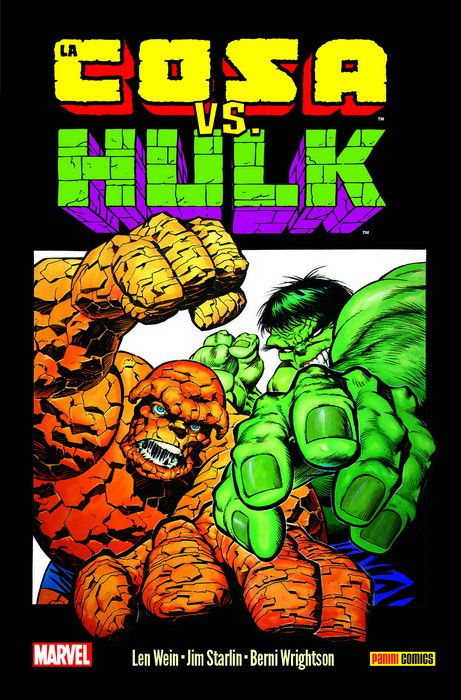 100% Marvel HC. La Cosa vs Hulk