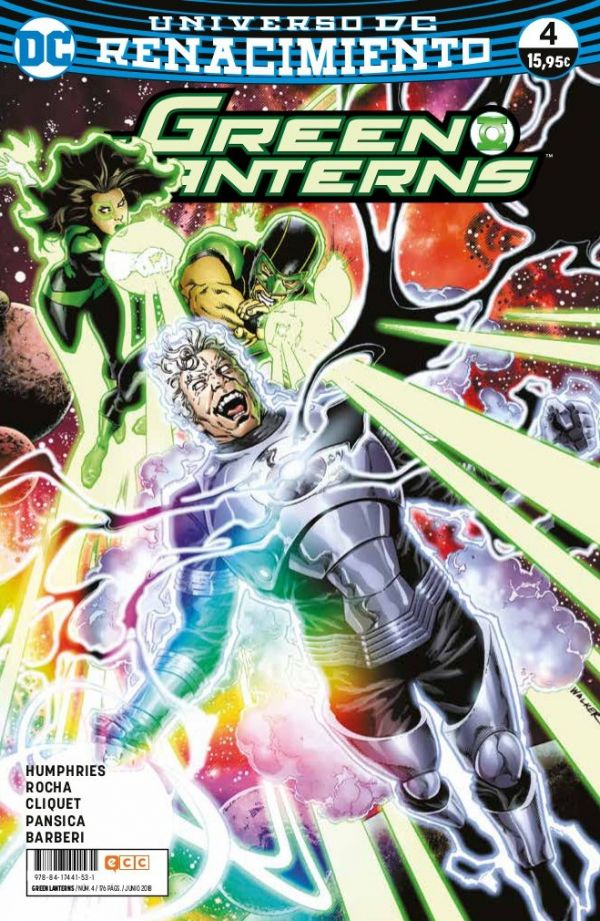 Green Lanterns núm. 04 (Renacimiento)