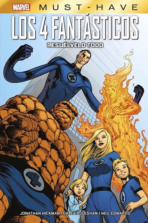 Marvel Must-Have. Los 4 Fantásticos: Resuélvelo todo