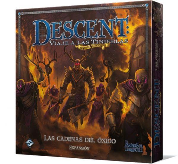 DESCENT - SEGUNDA ED.: LAS CADENAS DEL OXIDO