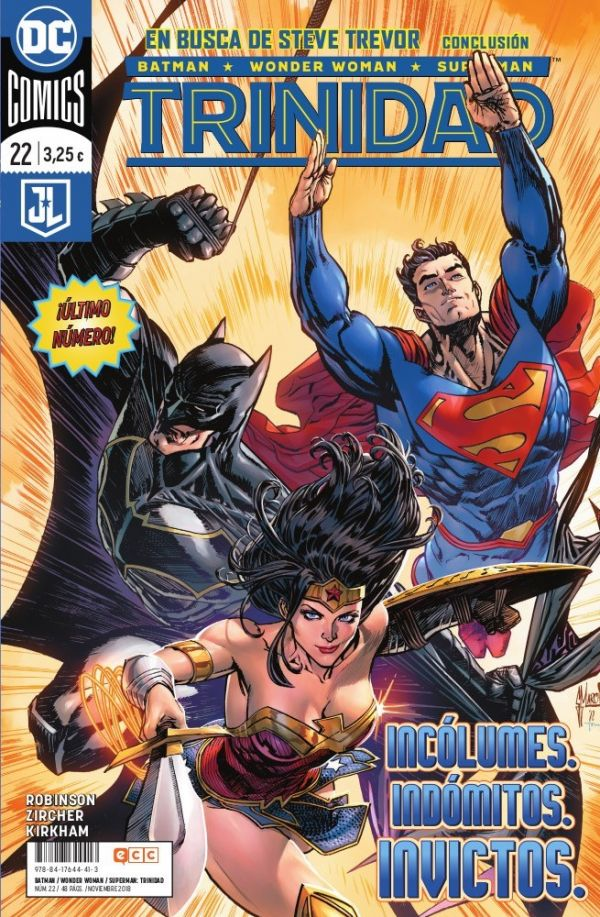 Batman/Wonder Woman/Superman: Trinidad núm. 22 (Último número)