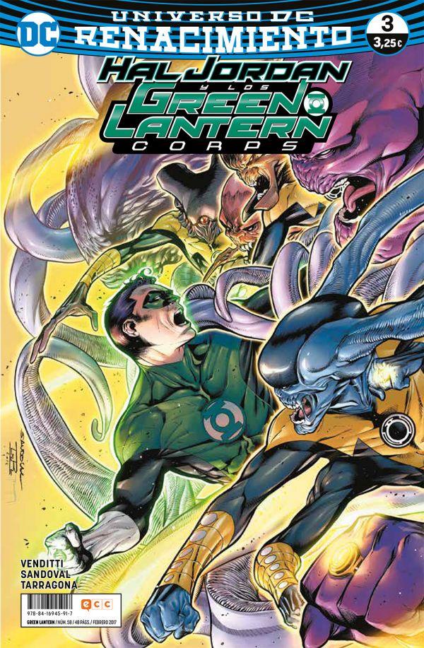 Green Lantern núm. 03 (Renacimiento)
