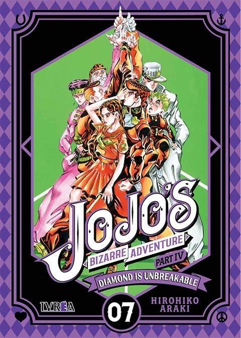 JOJO'S BIZARRE ADVENTURE. PART IV: DIAMOND IS UNBREAKABLE 07